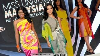 Miss Universe Malaysia 2014 Grand Final - Swimwear