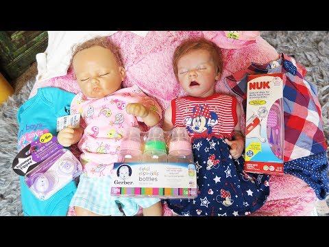 Reborn Baby Doll Shopping Haul from Walmart
