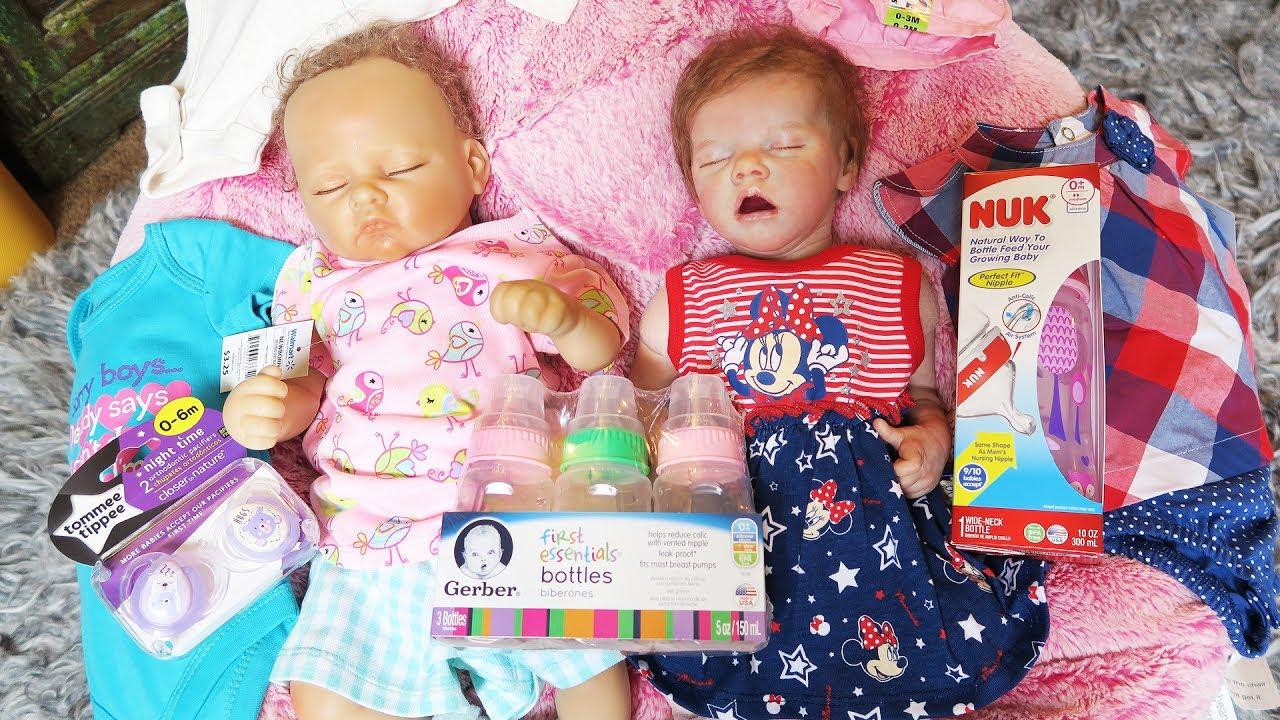 Reborn Baby Doll Shopping Haul from Walmart - YouTube