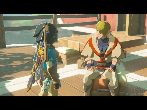 HOW TO UNLOCK TARREY TOWN'S SECRET SHOP! (RARE ITEMS) | The Legend of Zelda: Breath of the Wild