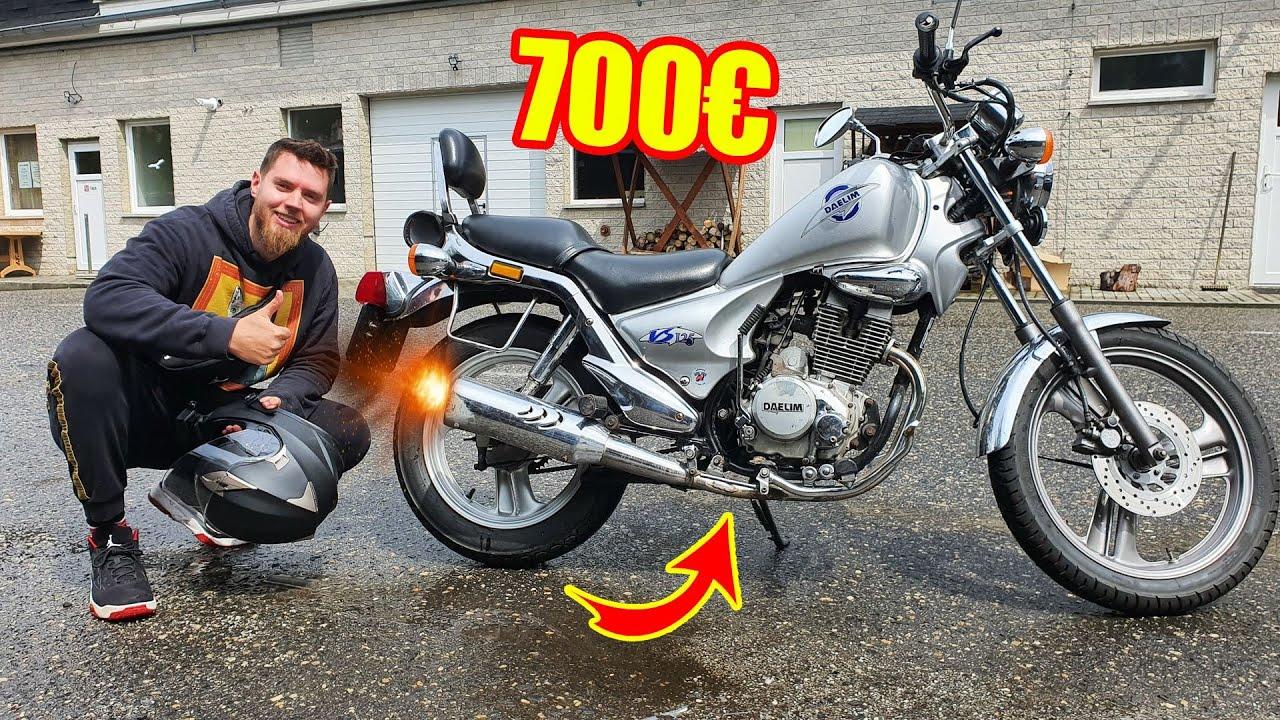 Ich habe ein MOTORRAD für nur 700€ GEKAUFT! - Wie schlecht ist es?!