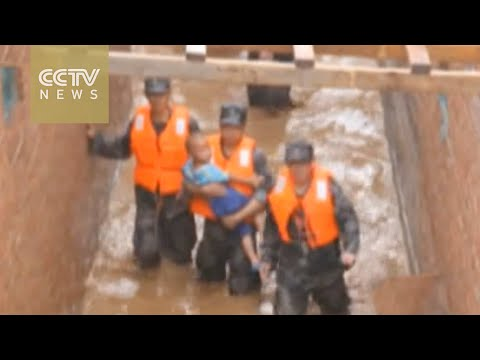 Southern and central China hit by heavy rainfall