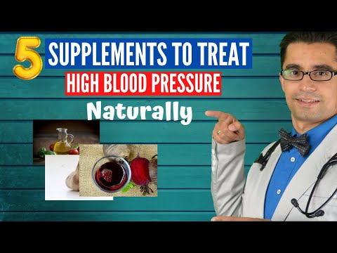 ��5 Supplements for Blood Pressure | Natural Treatment of High Blood Pressure