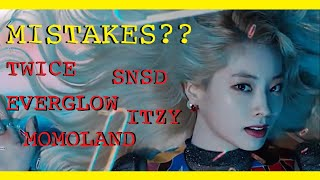 Download MISTAKES IN KPOP MUSIC VIDEOS PART 7 | Twice, Itzy, Momoland & More!