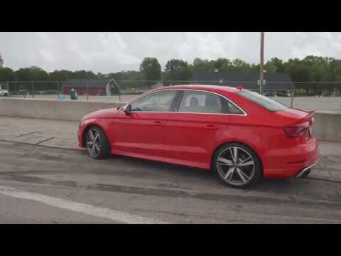 Audi RS3 at Lightning Lap 2018