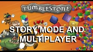 Tumblestone - A Fast-Paced Competitive Puzzle Game