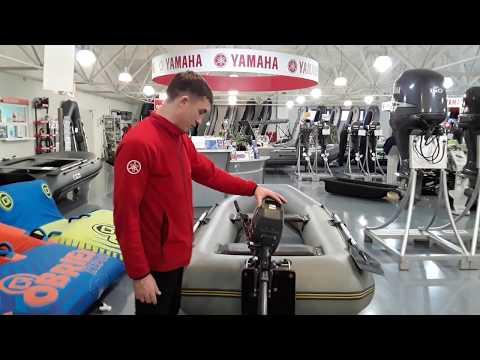 Yamaha 2 л.с и лодка Norvik 280T за 14 500 руб. Комплект подвесного лодочного мотора ямаха и лодки