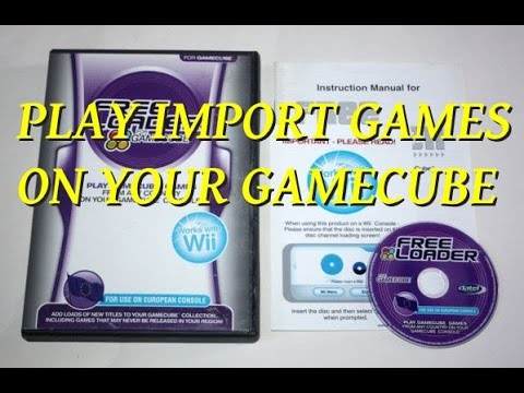 Play import games on your GameCube
