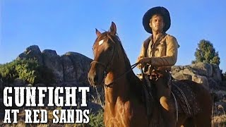 Gunfight at Red Sands | WESTERN | Action Movie | Romance | Cowboy Movie | Full Length Film