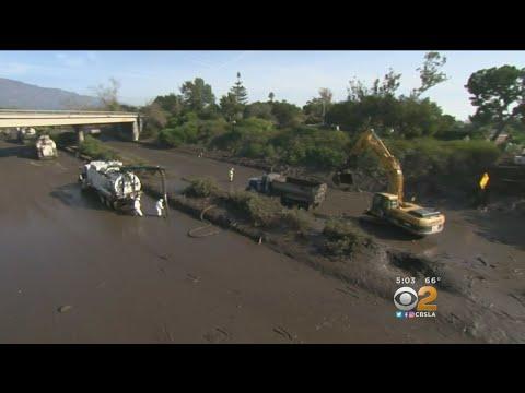 3 Still Missing In Montecito Mudslides, 101 Freeway Remains Closed