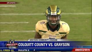Colquitt County vs Grayson