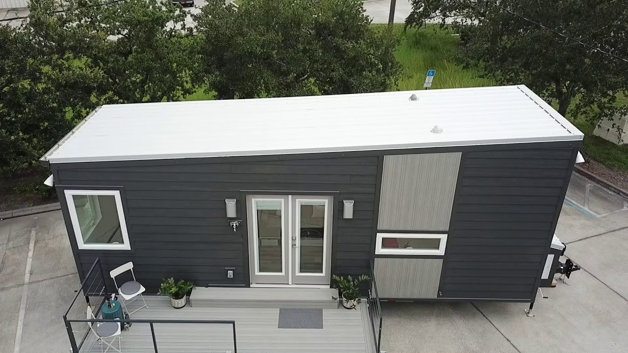 Movable Roots Boehm Tiny House Youtube