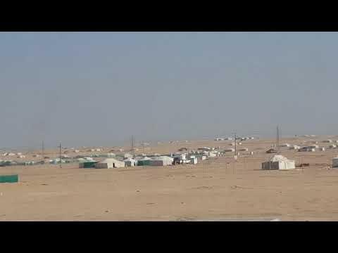 Winter Tent City In Al Mutlaa, Kuwait