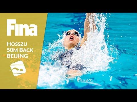 50m Backstroke - Hosszu hunts for gold #4 Beijing