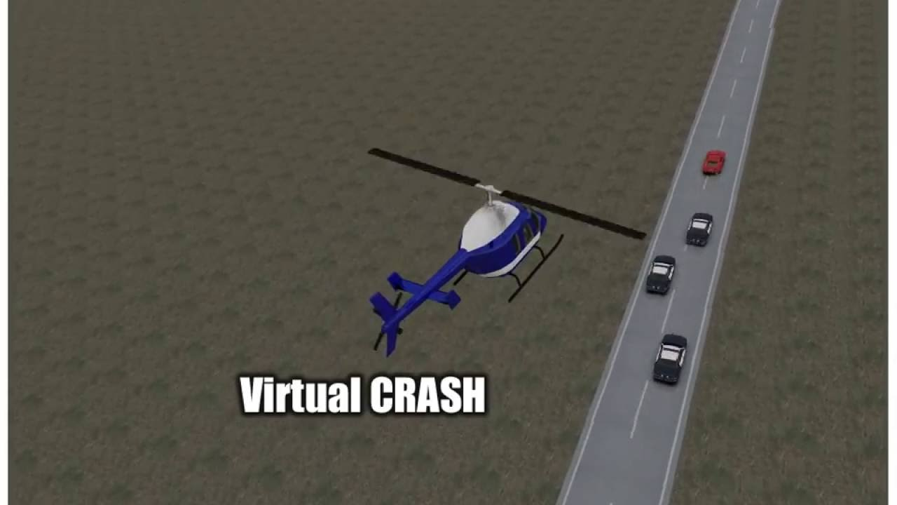 Virtual CRASH | Accident Reconstruction Software | Police Helicopter ...