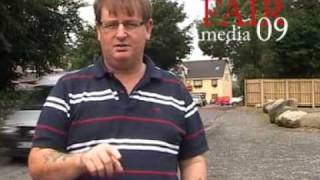Catholic extremists take over Meigh village in south Armagh. Police forced to flee.