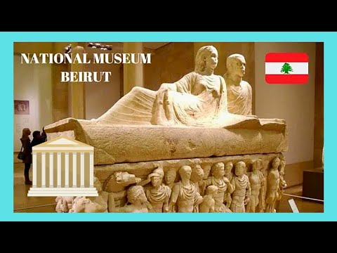 LEBANON: The NATIONAL MUSEUM in BEIRUT, one of world