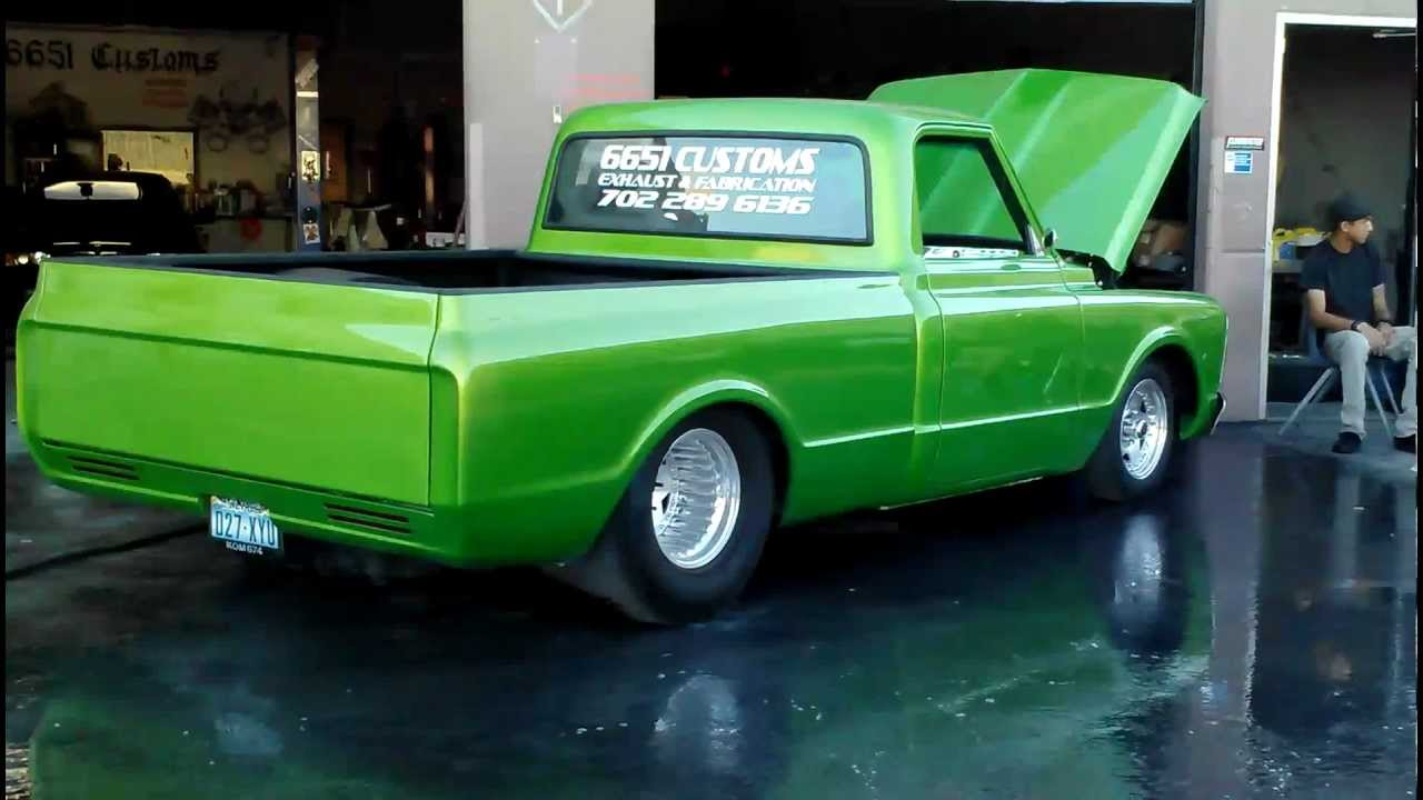 Double Bed Frame 1970 Chevy C10 6651 Customs - Youtube