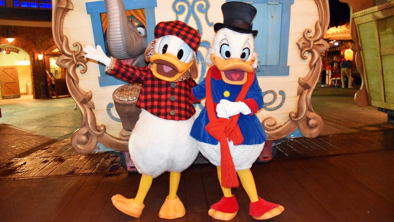 Uncle Scrooge and Donald Duck Meet us