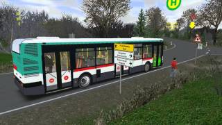 Omsi 2 ligne 258 Agora S RATP
