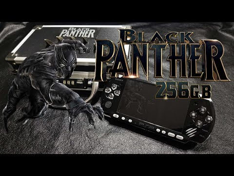 Custom 256gb Black Panther PSP