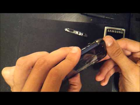 How to replace digitizer lcd on a tmobile samsung exhibit 2 II PART 1 dissasembly