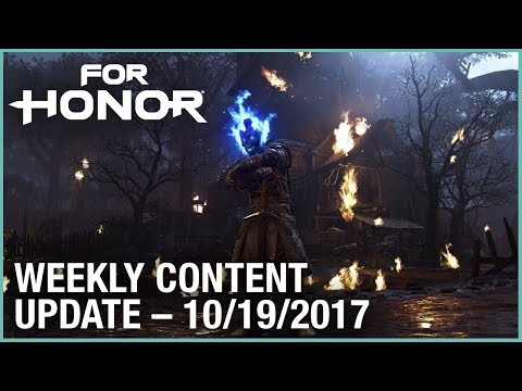 For Honor: Week 10/19/2017 | Weekly Content Update | Ubisoft [US]
