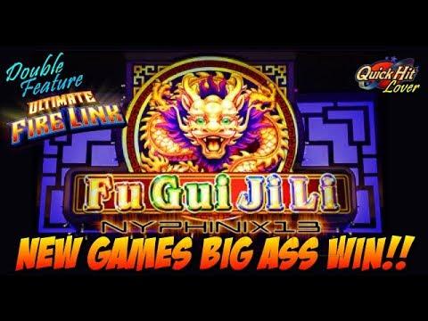 ☆NEW DELIVERY☆ Fu Gui Ji Li Slot Bonus HUGE WIN - YouTube
