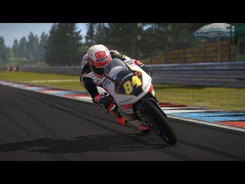 MotoGP 17 | RACE Moto3 | GP BRNO 2017 | Jakub Kornfeil | gameplay