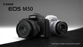 First Look:  Canon EOS M50 Mirrorless Camera