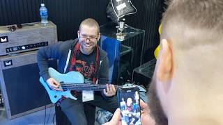 NAMM2020: Dave Davidson of Revocation at Abasi/Horizon Booth