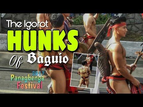 Igorot Hunks of Baguio at THE PANAGBENGA FESTIVAL 2017