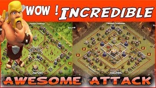 Clash of Clans - Low Hero With Laloon Attack These Base 3-Star TH11 - 28 Miners Vs 4 Ring !
