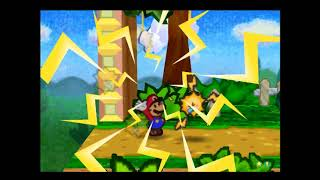 Paper Mario - Action Command-less Partner Moves