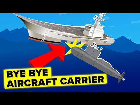 How Can A Cheap Submarine Sink An Expensive Military Aircraft Carrier?