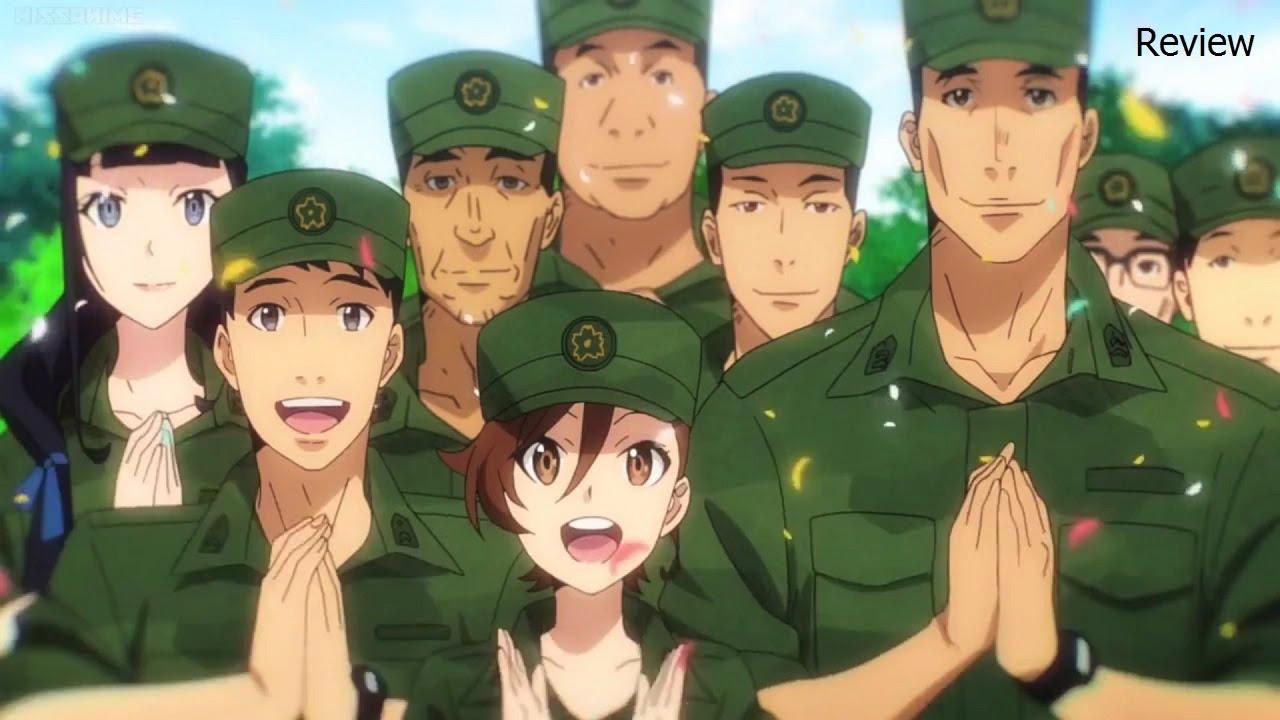 Gate Jieitai Kanochi Nite Kaku Tatakaeri Season 3