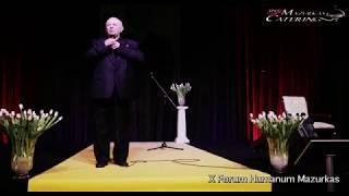 X Forum Humanum Mazurkas-Bohdan Łazuka-