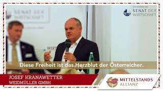 """4. MITTELSTANDS-ALLIANZ-Unternehmer-Statement: """"Freiraum"""""""