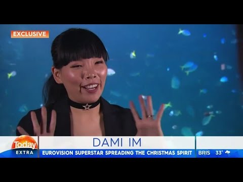 Dami Im spreads Christmas cheer - Interview on Channel 9's Today Extra