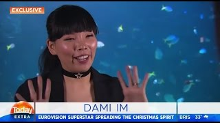 Dami Im spreads Christmas cheer - Interview on Channel 9