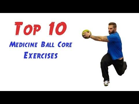 Top 10 Medicine Ball Core Exercises