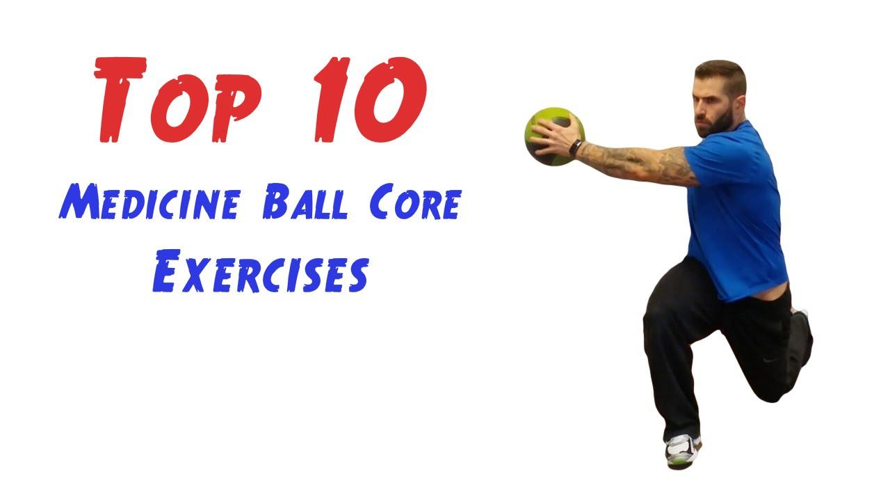 Top 10 Medicine Ball Core Exercises - YouTube
