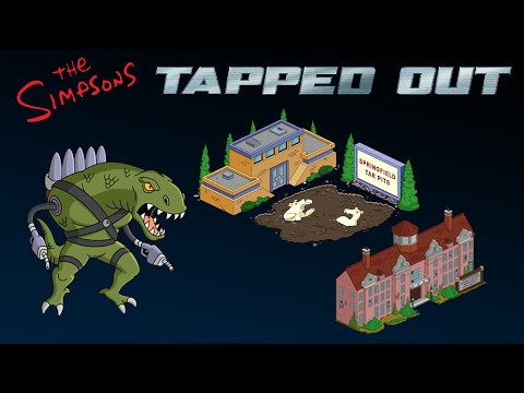 The Simpsons Tapped Out u0022New Updateu0022 (Superheroes 2   Gill Deal   Issue 1) now in 1080p