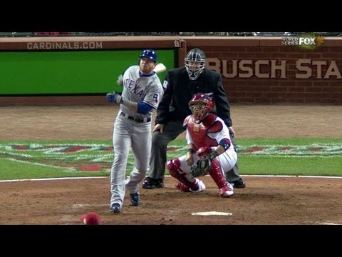 WS2011 Gm6: Hamilton homers to take the lead in 10th