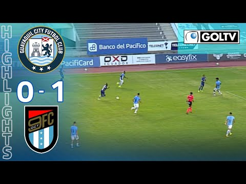 Guayaquil City Nueve de Octubre Goals And Highlights