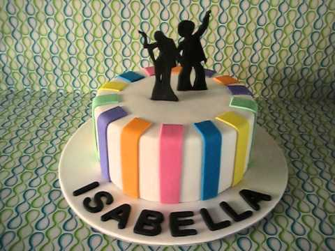 Disco Dancers Cake! - YouTube