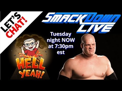 Live Chat During WWE Smackdown! NEW Start Time! 1/2 Hour Pre Show VIP Chat!