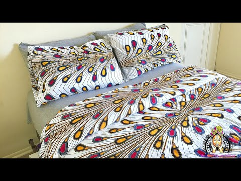 DIY Duvet and Pillowcase| African Fabrics for sale |Ruralafricanshop
