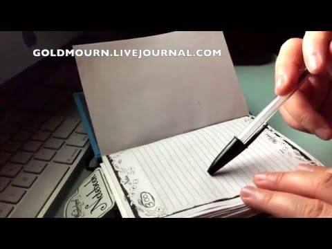 Finishing  A Paper Journal (#37)