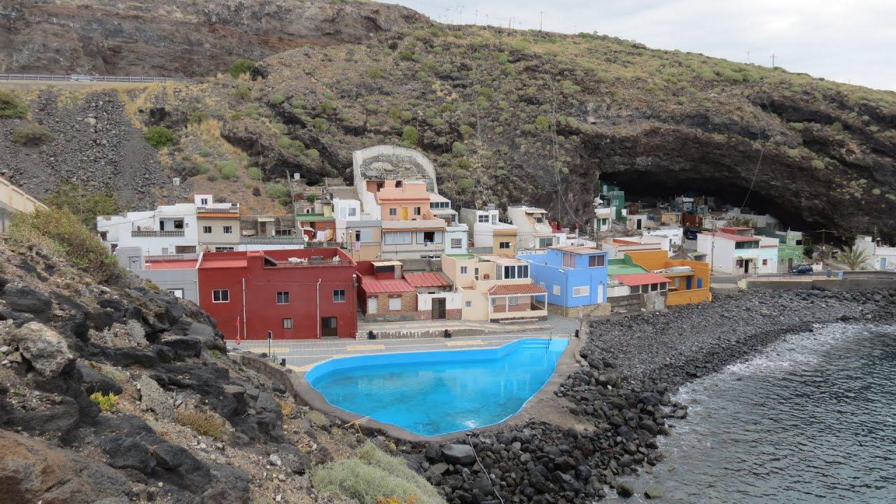 Canary islands tenerife los barrancos punta prieta for Piscina natural tenerife
